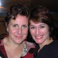 Megan Roth and Dawn Upshaw<br><em>Ainadamar </em>, Opera Boston, 2007.
