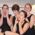 Ainadamar Ladies Backstage<br><em>Ainadamar </em>, Opera Boston, 2007.